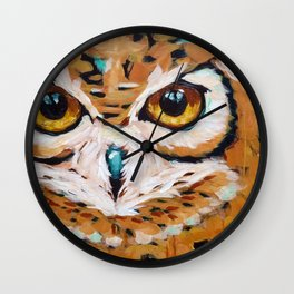 Hunter's Stare Wall Clock