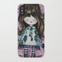girly iPhone & iPod Cases featuring girly by norjene