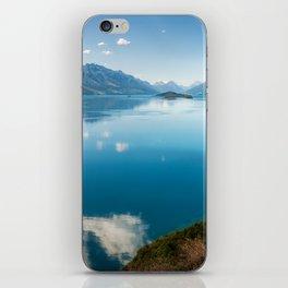 Breathtaking View of Lake Wakatipu in New Zealand iPhone Skin