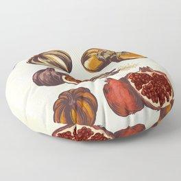 Fall Produce Floor Pillow