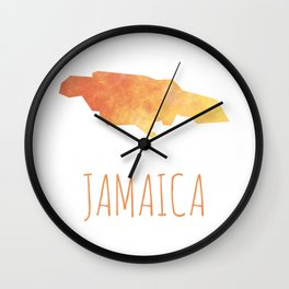 Jamaica Wall Clock