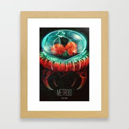 Metriod Poster Framed Art Print