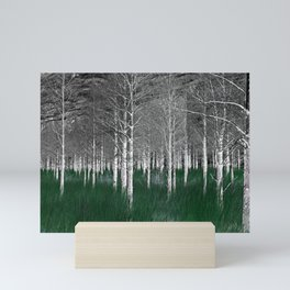 The woods are lovely, dark and deep part 1 Mini Art Print