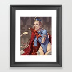 You Can't Escape My Sting Framed Art Print