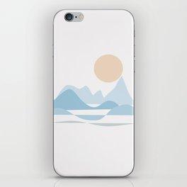 NORTHERN SEA #society6 #buyart #decor iPhone Skin