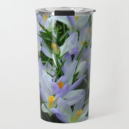 Lavender Crocus Travel Mug