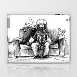 bob and frank's couch capsule Laptop & iPad Skin
