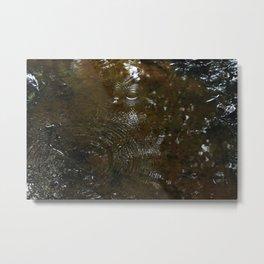 Drops of water Metal Print