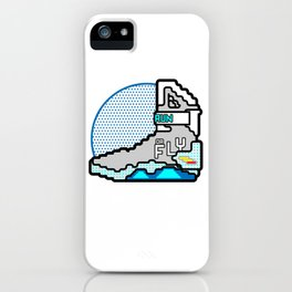 Run Or Fly iPhone Case