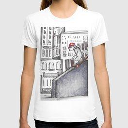 City Skate Dog T-shirt