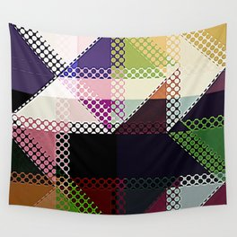 Pattern Multi Color Abstract Wall Tapestry