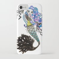 monster high iPhone & iPod Cases featuring Sirena Von Boo - Monster High by Amana HB