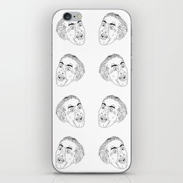 Nicolas Cage Tiles iPhone Skin
