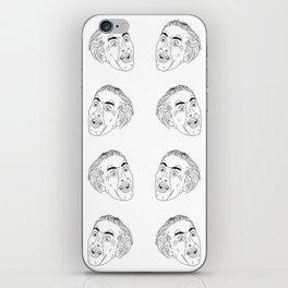 Nicolas Cage Tiles iPhone Skin