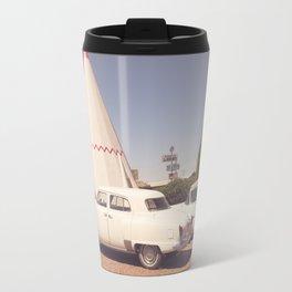 Sleep at the Wigwam Travel Mug