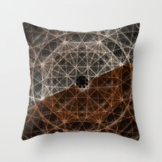 Our Webbed Cognition Throw Pillow