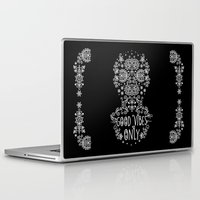 good vibes only Laptop & iPad Skins featuring Good Vibes Only by Anita Molnár Anita