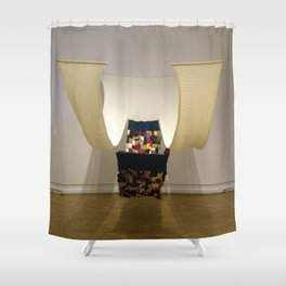 Tell Me Your Story Shower Curtain