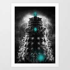 Shadow Of The Dalek Art Print