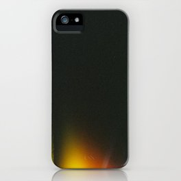 Black and Gradient  iPhone Case