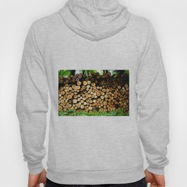 The Great Wall Of Wood Hoody