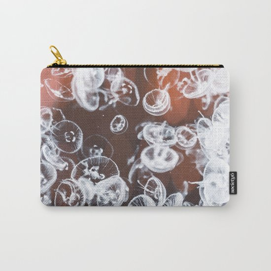 Electric Jelly fish Carry-All Pouch