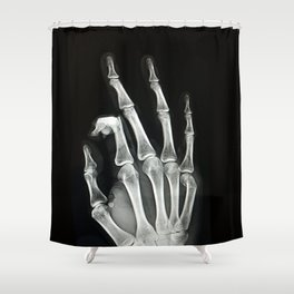 Everything is A-OK Shower Curtain
