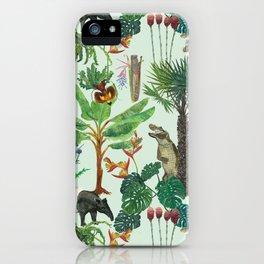 Dream jungle iPhone Case