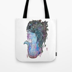 moth effect Tote Bag