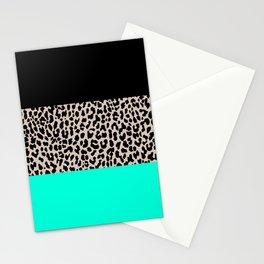 Leopard National Flag VII Stationery Cards
