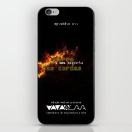 "Vaca - MP: ""Guerra das Cordas - A Vaca Desperta"" iPhone Skin"