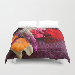 Bloody, Creepy, October-feast For The Eyes Duvet Cover