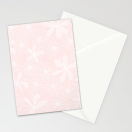Daisies in Love - Floral Daisy Summer Pattern Stationery Cards