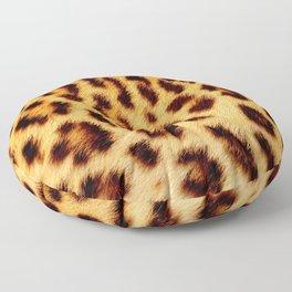 Leopard skin pattern Floor Pillow