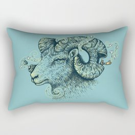 Big Horn Invocation Rectangular Pillow
