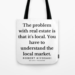 41  |  Robert Kiyosaki Quotes | 190824 Tote Bag