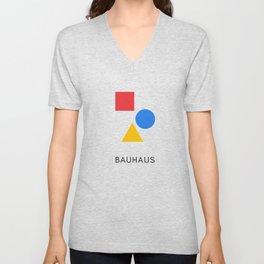 Bauhaus - Geometric Art Unisex V-Neck