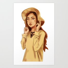 Cutiepie Art Print