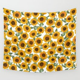 SUNNY DAYS -sunflowers- Wall Tapestry