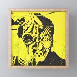 Pecker Portrait in yellow | John Waters Film Framed Mini Art Print