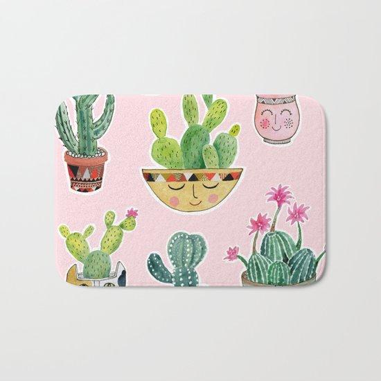 Cactus Pots Bath Mat