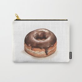 Chocolate Glazed Donut Carry-All Pouch