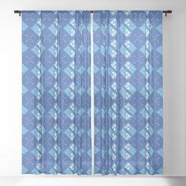 Gallifrey Argyle Sheer Curtain