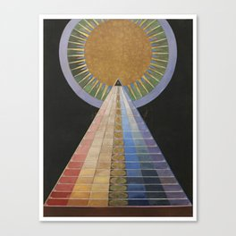 Altarpiece No. 1 Group X Hilma af Klint, 1915 Canvas Print