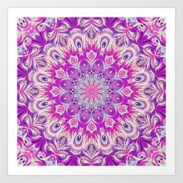 Flower Of Life Mandala (Innocence) Art Print
