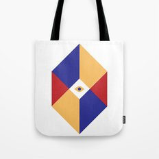 S Q | Eye Tote Bag