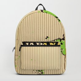 Vintage style Map of Japan Backpack