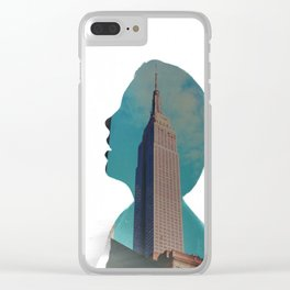 City Life Clear iPhone Case