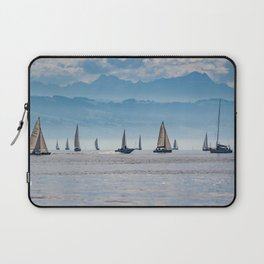 Sailboats (Lake Constance, Germany) Laptop Sleeve