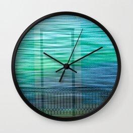 Balcony Breeze Wall Clock